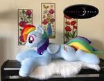 Life-Sized Plush Pony by PurpleNebulaStudios