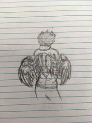 Winged Kankri (sketch)