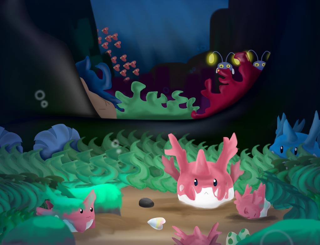 Under the Sea by Aithekitsune