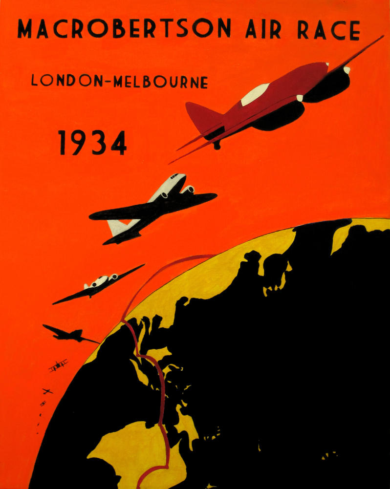 Macrobertson air race by decoechoes on deviantart for Air deco