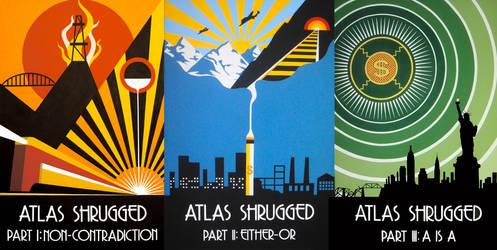 Atlas Shrugged Triptych
