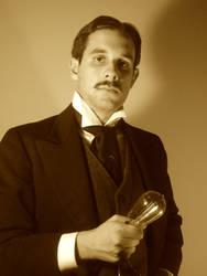 Nikola Tesla by DecoEchoes