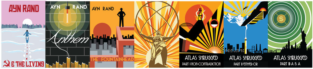 The Ayn Rand Collection (Vector)