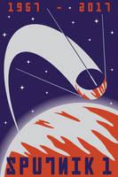 Sputnik I by DecoEchoes