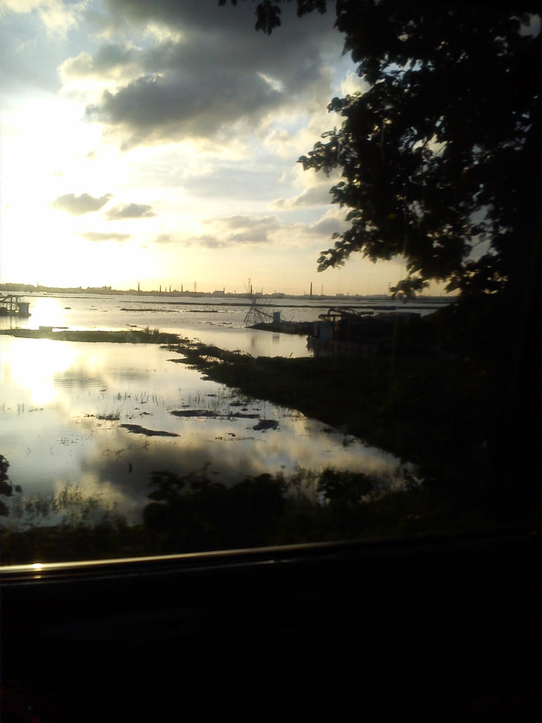 Sunset by sanam5484