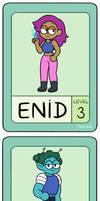 OK-DEN! Let's Swap Heroes!~Enid and Rad