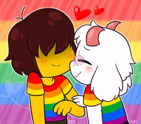 Rainbow Gay Couple! by Nikytale
