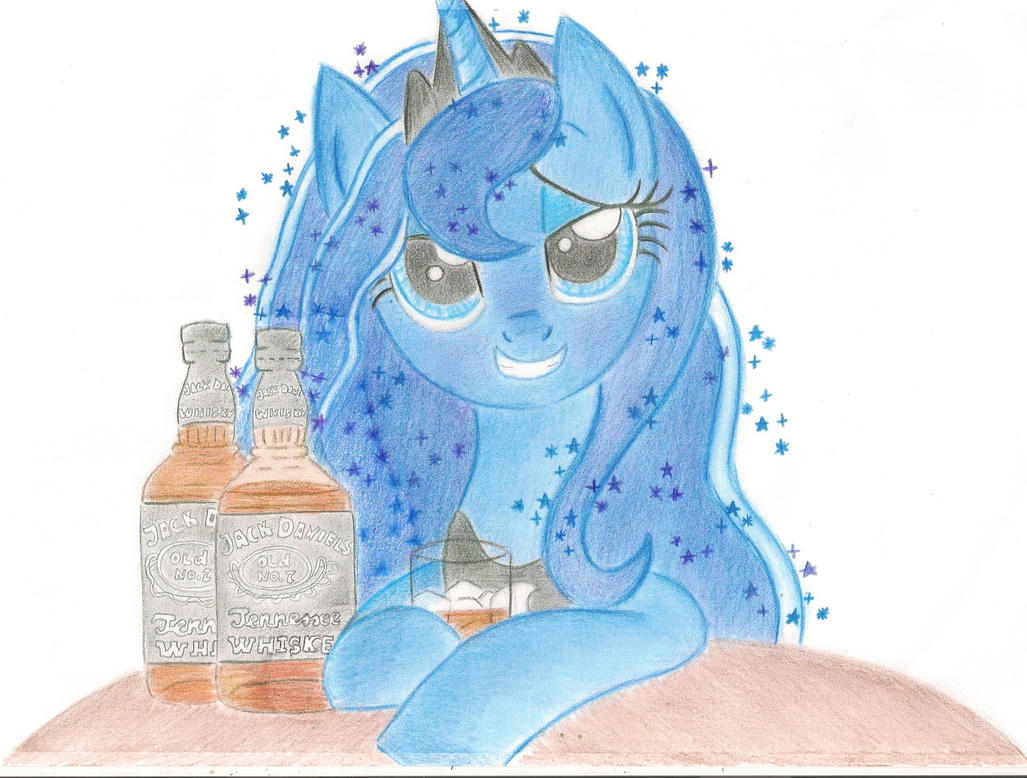 Drinking is Magic by Blueaugen