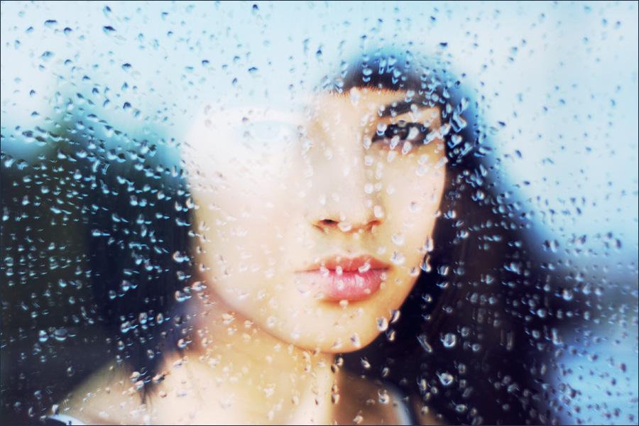 fake rain by Maagdalenka