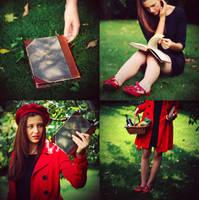 red riding hood by Maagdalenka