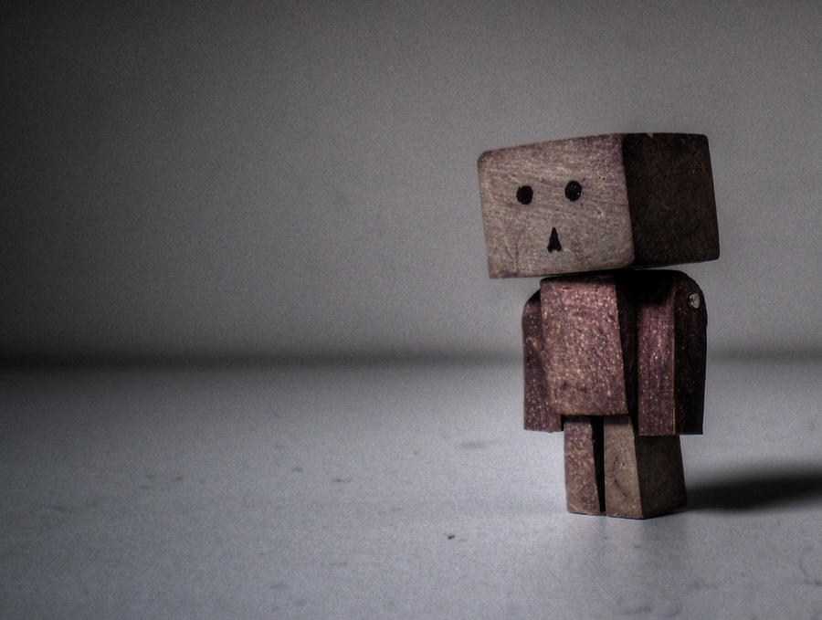 Miniature Clay Danbo by LaughterInTheWoods
