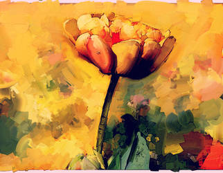 Abstract Flower by DigitalHyperGFX