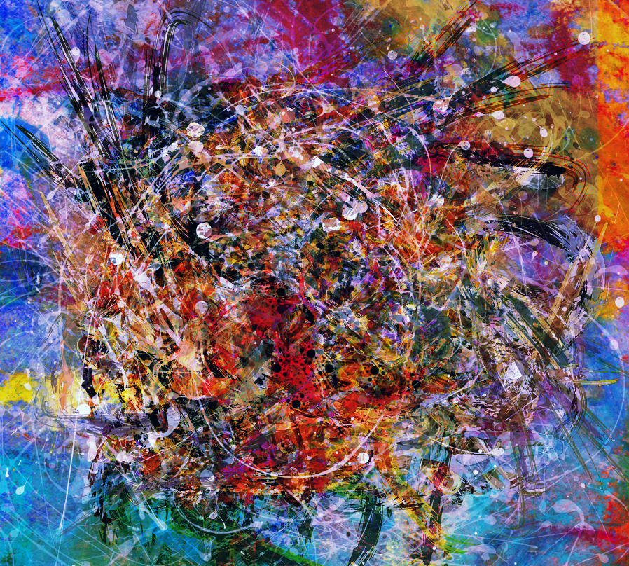 Abstract Expressionisme By DigitalHyperGFX On DeviantArt