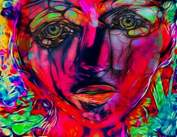 Behind these eyes by DigitalHyperGFX