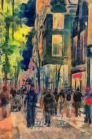City people by DigitalHyperGFX