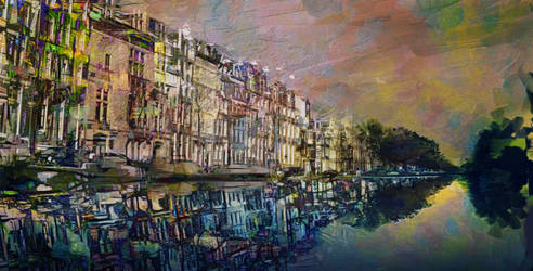 Reflections in Amsterdam by DigitalHyperGFX