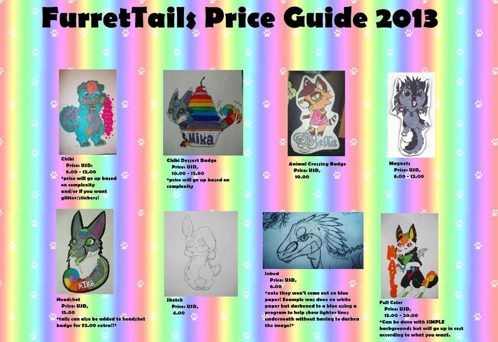 FurretTails Price Guide 2013 by FurretTails