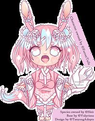 Origami Rabbit Girl