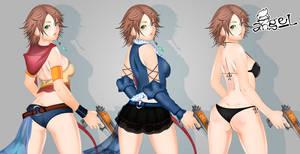 Yuna (Final Fantasy X-2) Commission