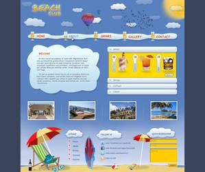 Beach Club Web Interface by Positivist