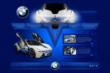 BMW Vision Web by Positivist
