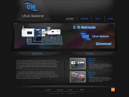 Ufuk Makine Web Site
