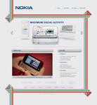 Nokia N97 Web Site by Positivist