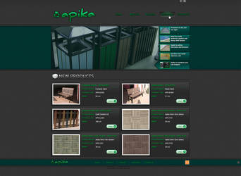 Apika Web Interface by Positivist