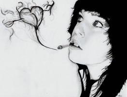 I love smoke by TeSzu