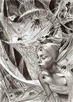 Lady of Spiders by TeSzu