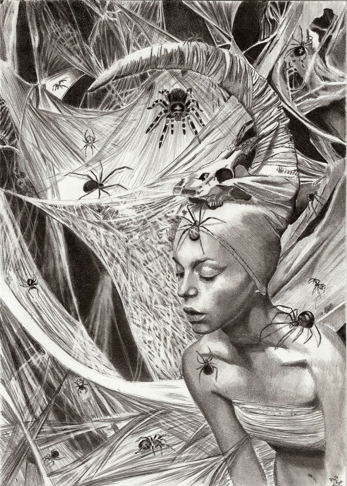 Lady of Spiders by TeSzu