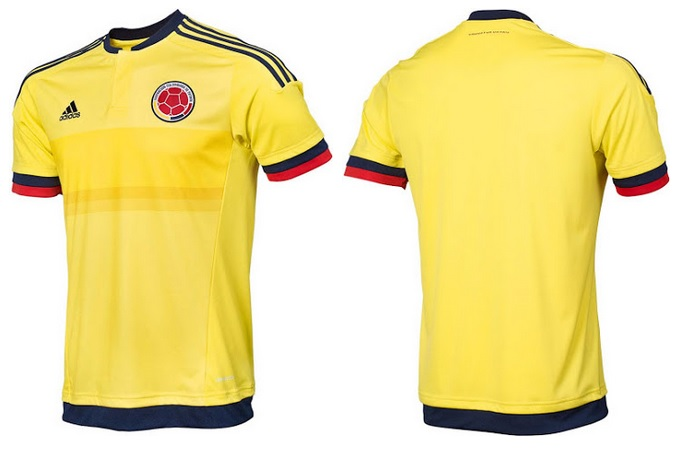 Colombia new jersey for 2015 Copa America