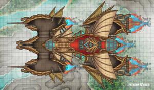 DnD Airship Map (The Battleaxe)