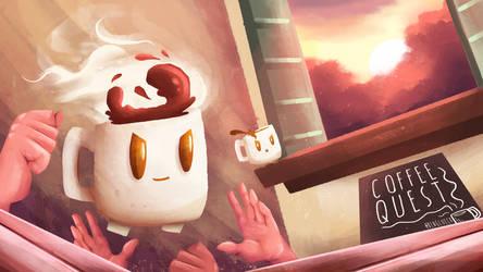 Coffee Quest Art by Ben3555