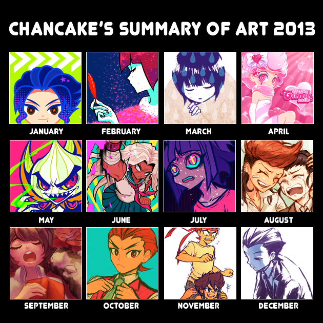 Art Summary 2013 by Chancake