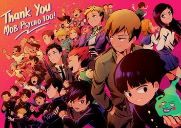 Thank You Mob Psycho 100! by Chancake