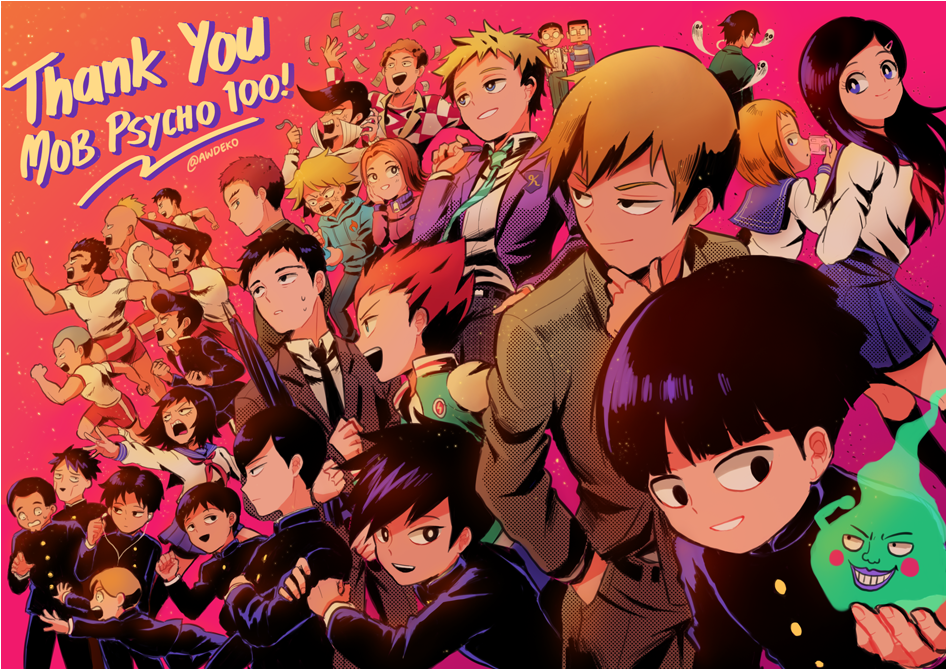 Thank You Mob Psycho 100! by Chancake