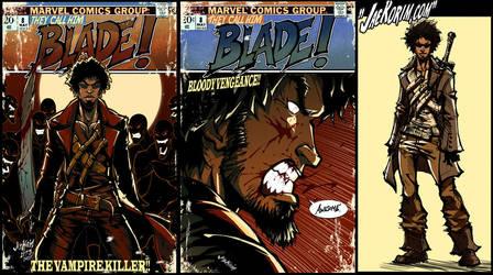 Blade Vampire Hunter by JKorim