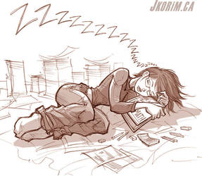 Sleepy Gigi by JKorim