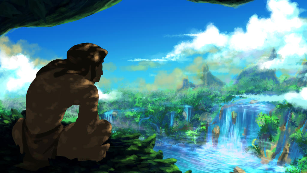 Tarzan by chwee