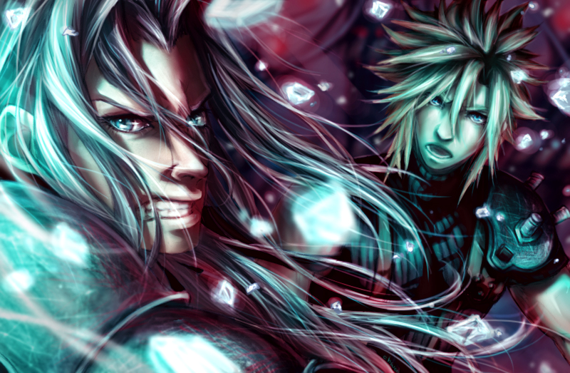 Final Fantasy VII project by chwee