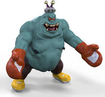King Hippo from Captain N: The Game Master
