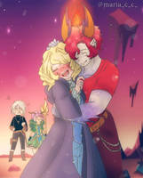 [Stvfoe Fanchild] First encounter with Hermes~ by AuroraWiswater