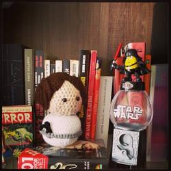 Princess Leia Star Wars amigurumi