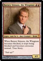 Barney Stinson, the Wingman
