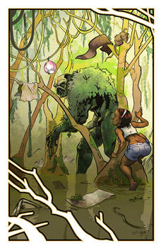 Swamp Thing 2012 Con Print