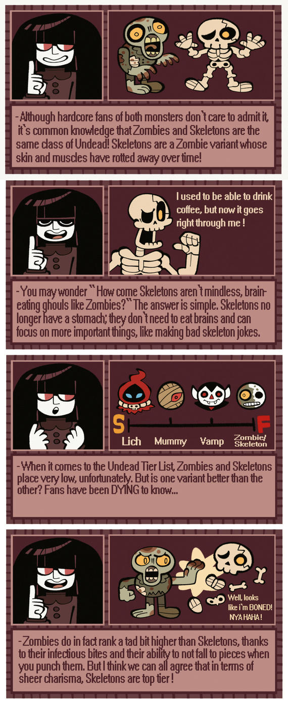 GHOUL FACTS with Truffle! by BillSpooks