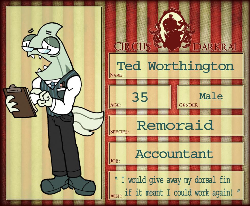 CD NPC :: Ted Worthington by BillSpooks