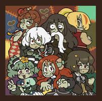 Zombieland Saga!!! by BillSpooks