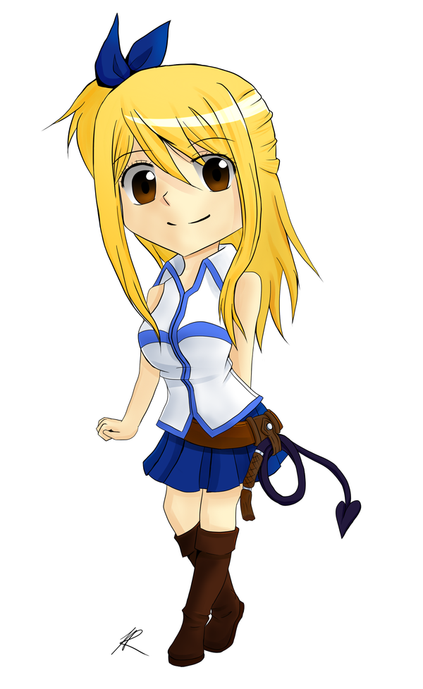 Chibi Lucy by Kagamika on DeviantArt
